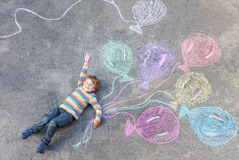 street art ballon