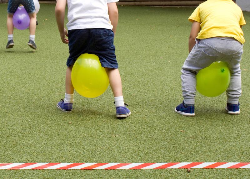 spel ballonnen race