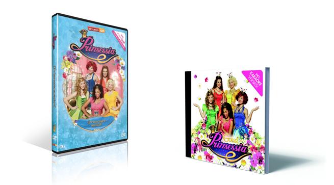 prinseesia dvd en cd