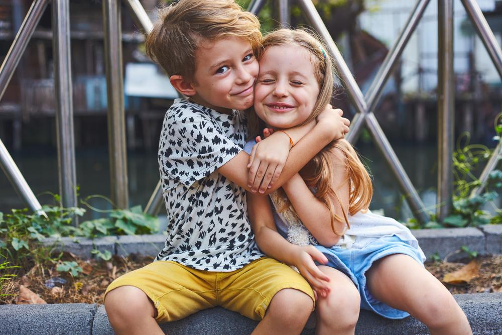 leuk zus en broer