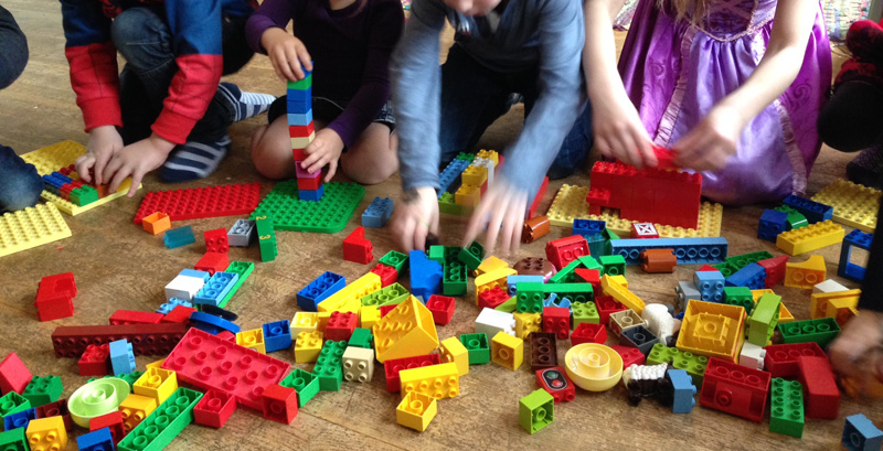 Ninjago feestje Legospel