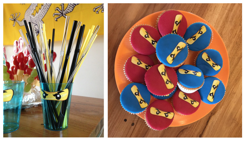 Ninjago feestje decoratie