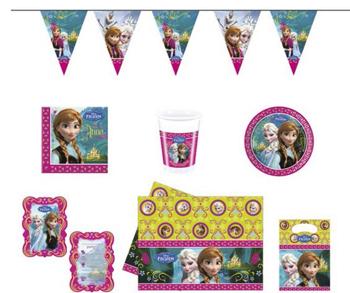 Frozen kinderfeestje feestartikel