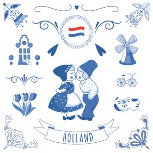 Oud Hollands kinderfeestje uitnodiging