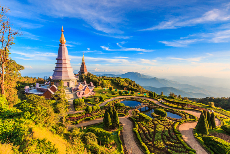 Nationaal park Doi Inthanon tempel