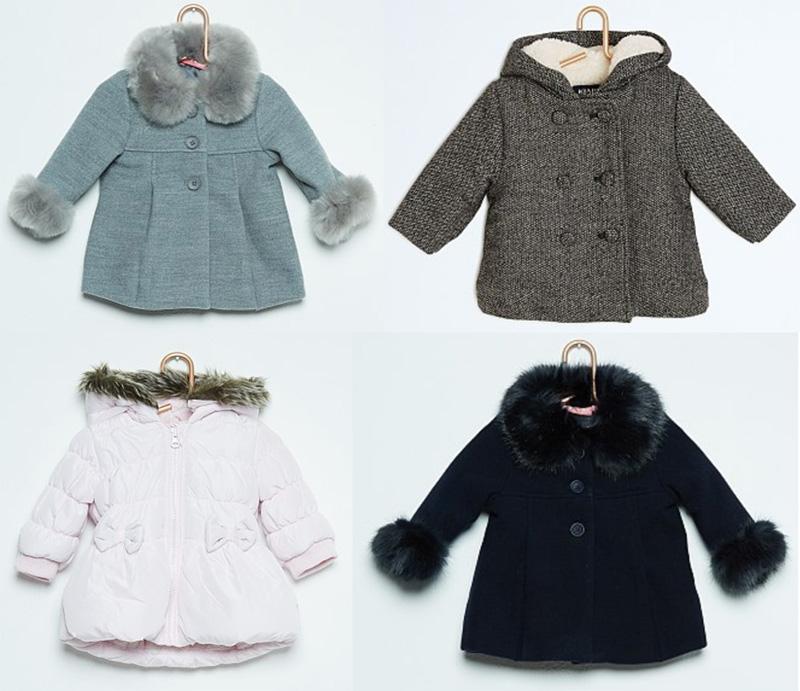 goedkope winterjas baby meisje