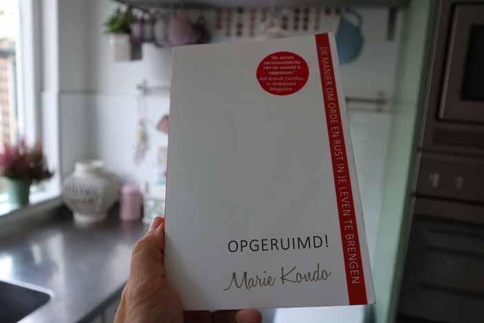 Review opgeruimd boek van mary kondo for Boek opgeruimd