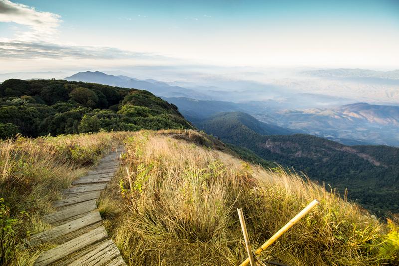 uitzicht Nationaal park Doi Inthanon