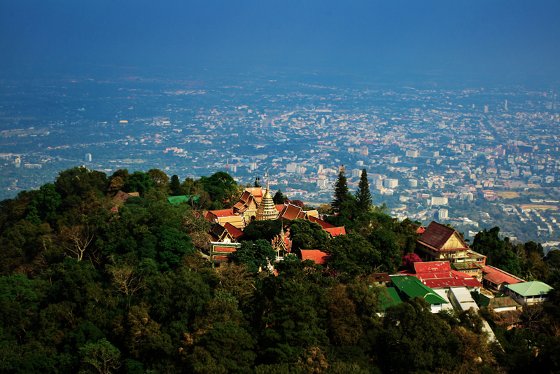 view Wat Phrathat Doi Suthep