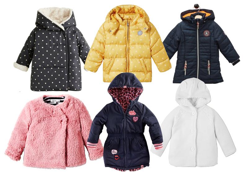 winterjassen meisjes baby 2018-2019