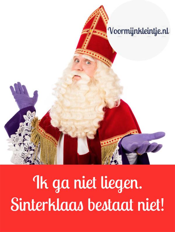 Ik ga niet liegen - Sinterklaas bestaat niet
