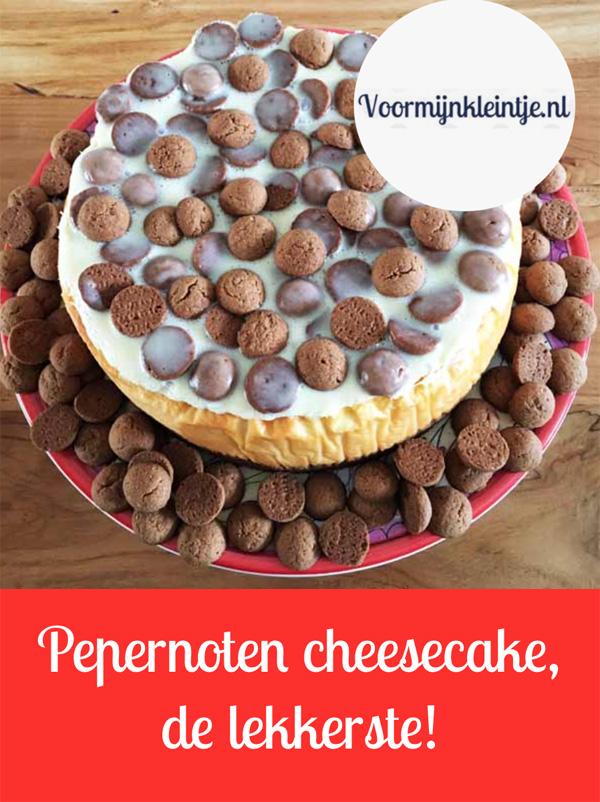 Pepernoten cheesecake - dit is de lekkerste