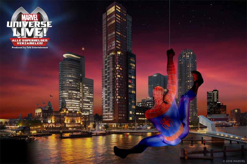 Spider-Man Rotterdam copy