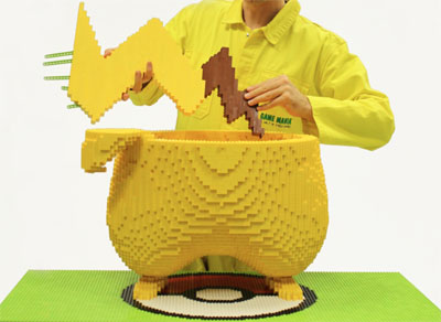 pikachu lego