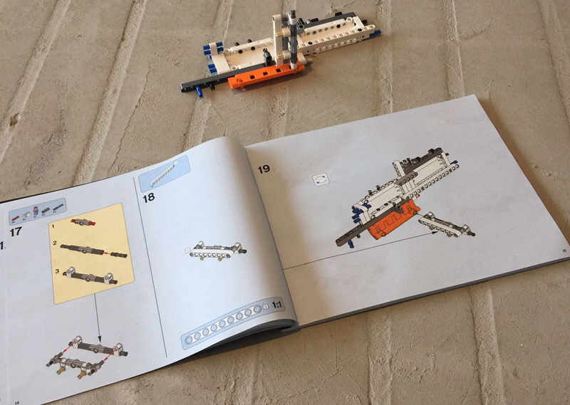 helicopter lego begin