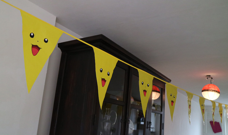 pikachu slinger Pokemon feestje