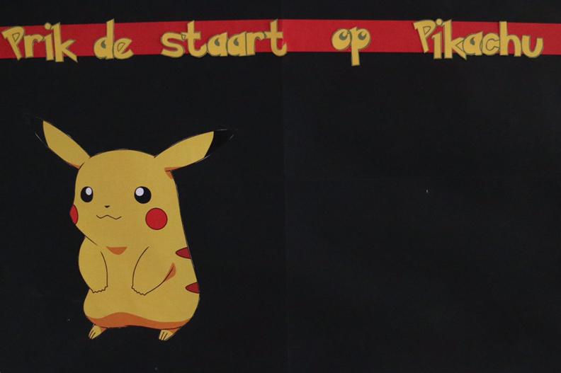 pikachu spel pokemon feestje