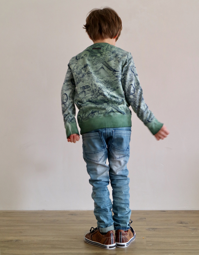 indian blue jeans broek