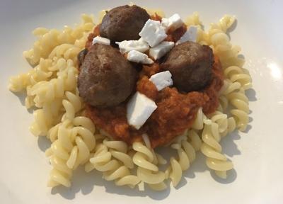 tomaat olijf pasta
