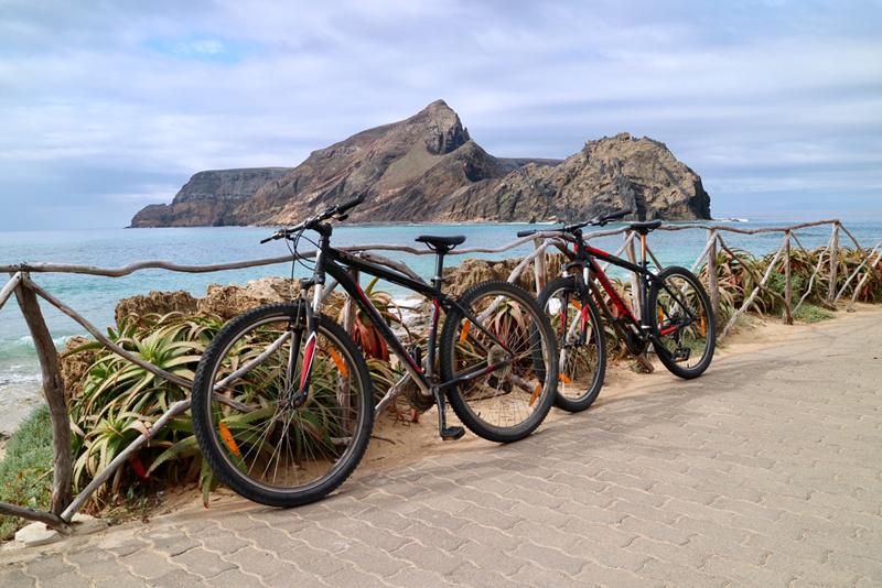 fietsen porto santo