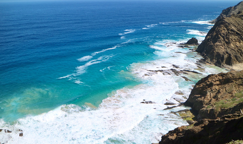 uitzicht kust porto santo