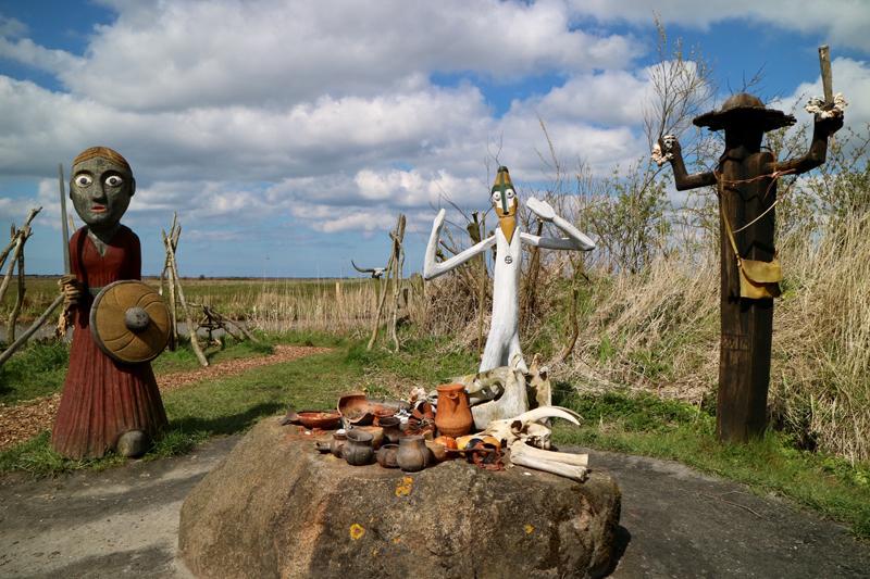 De offerplaats van Bork Vikingehavn