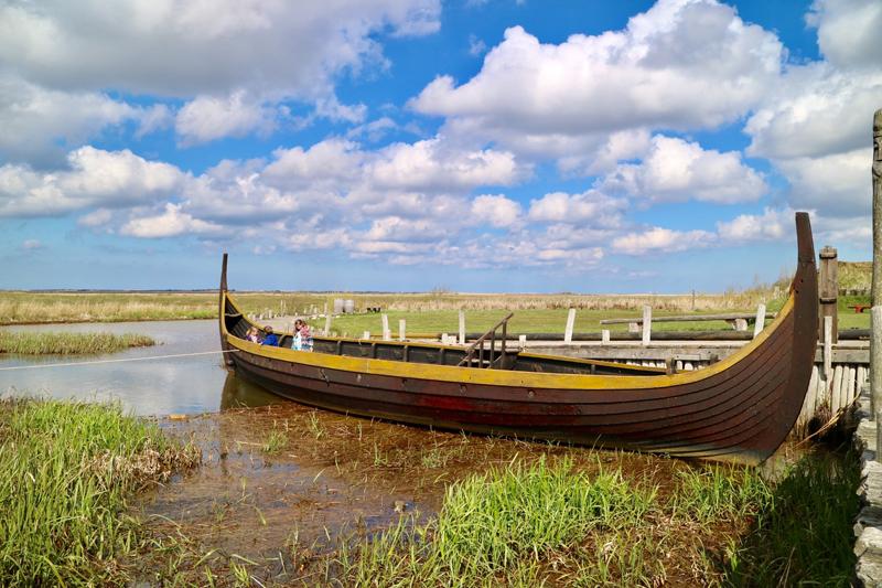 Longboot Bork Vikingehavn