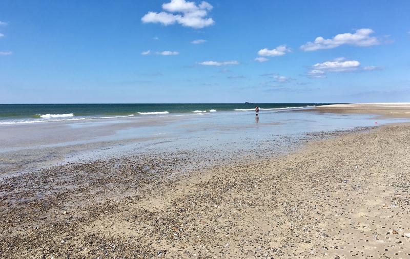 Nymindegab strand denemarken