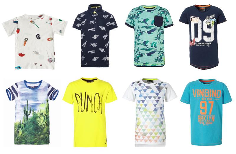 jongens t-shirts zomer 2017