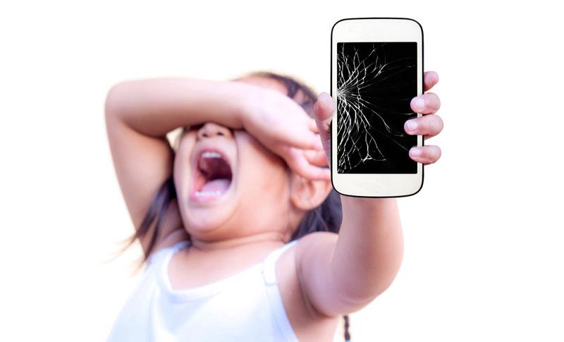 kapot iphone