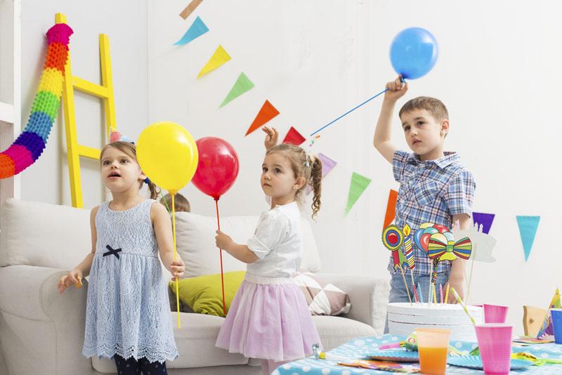 kinderfeestje thuis 5 jaar