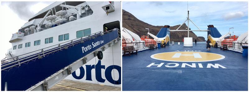 porto santo ferry line