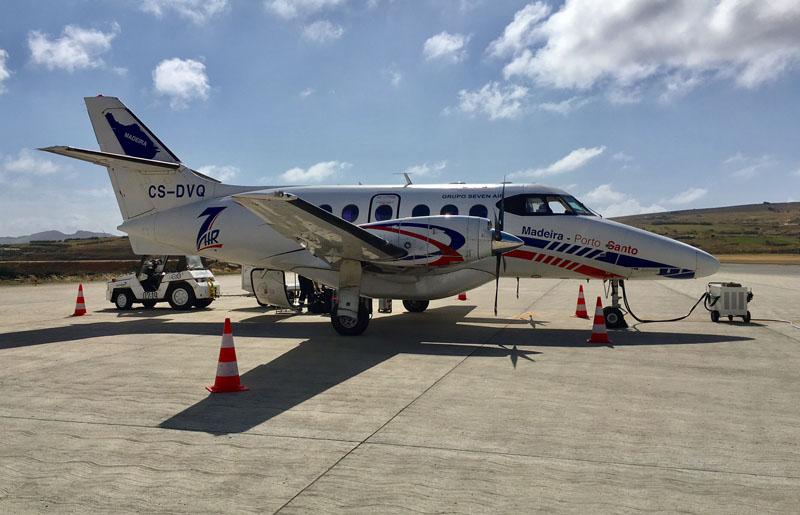 vliegen naar Porto santo-1