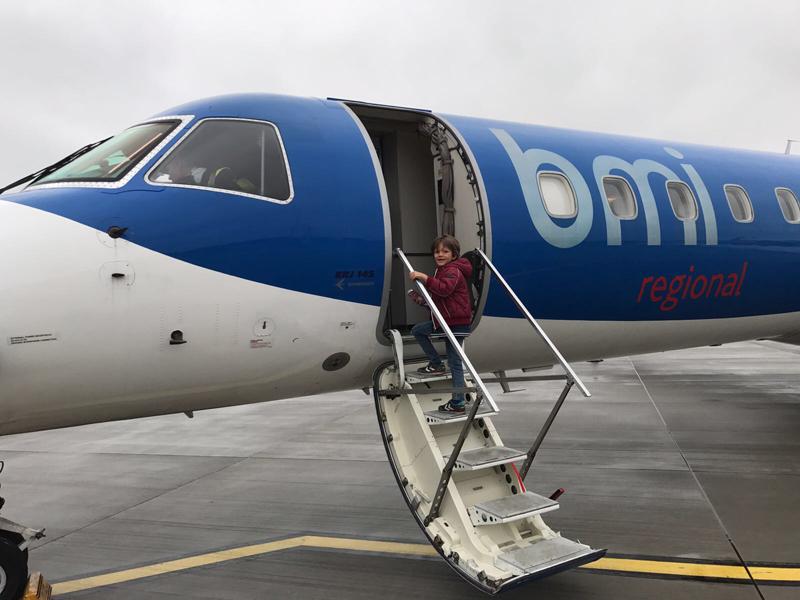 Groningen Airport Eelde vliegtuig