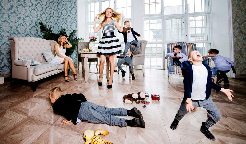 chaos gezin