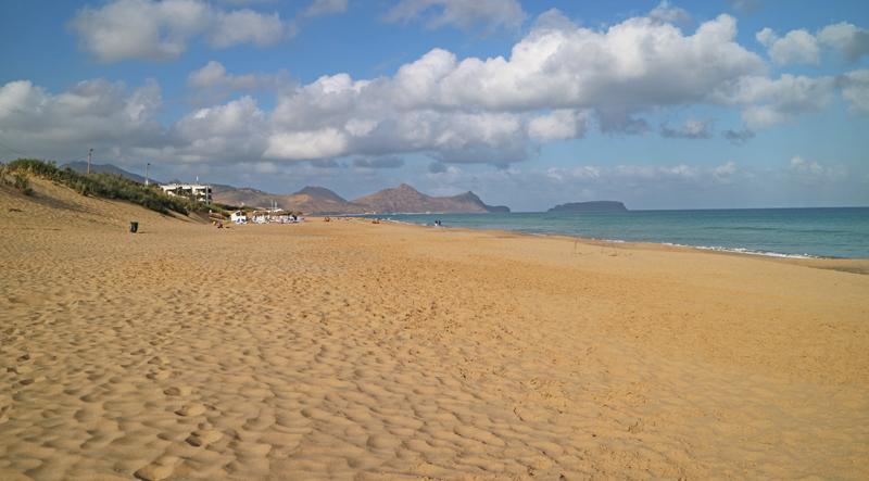 gouden strand porto santo