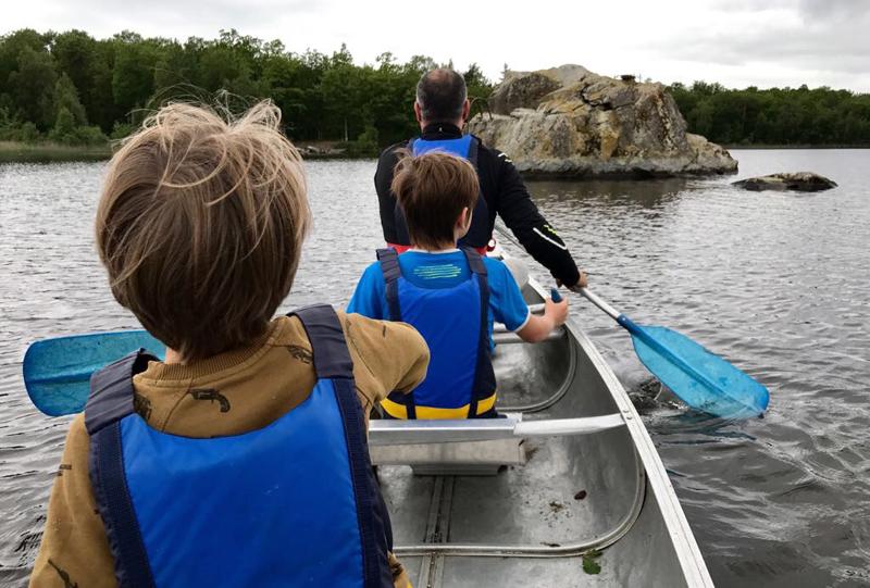 kayakken zweden