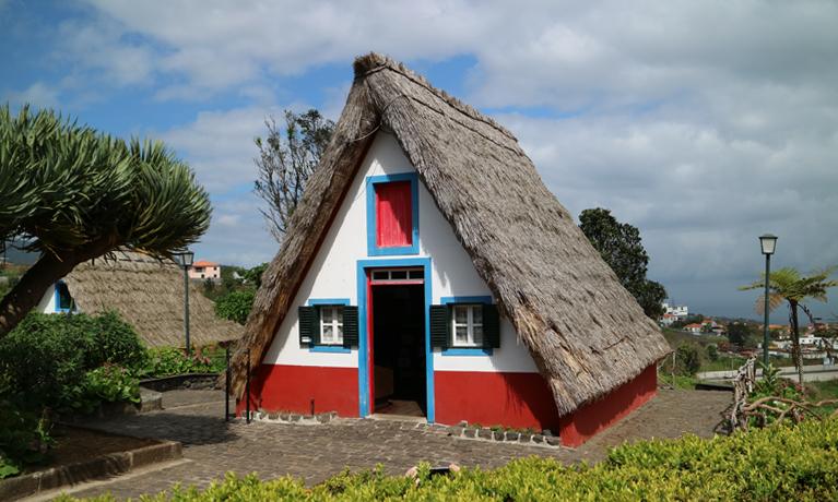 traditionele Santana huisjes