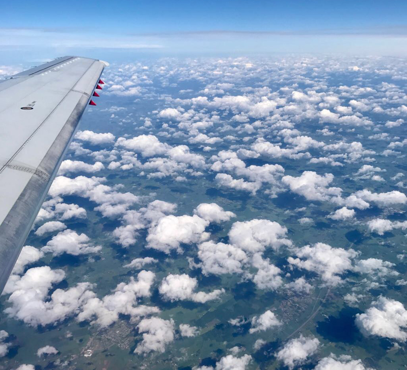 vliegen boven zweden