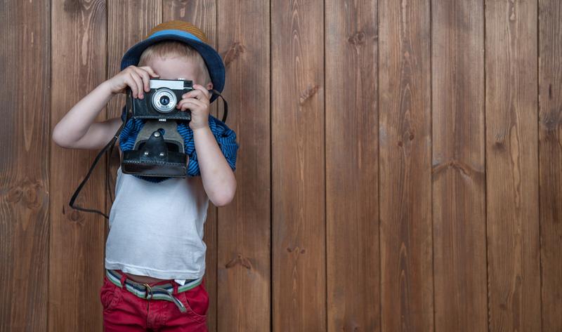 foto maken kind