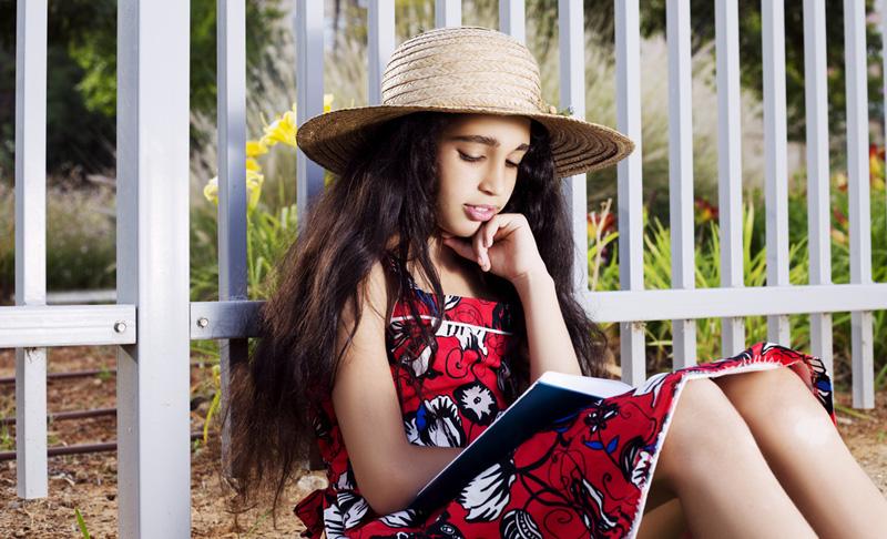 lezen in vakantie