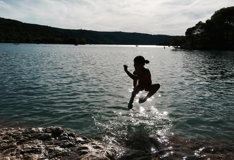 De magie van Lac d'Esparron