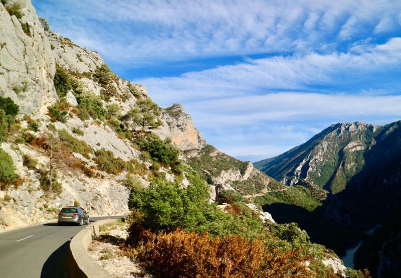 De prachtige omgeving van Gorges du Verdon