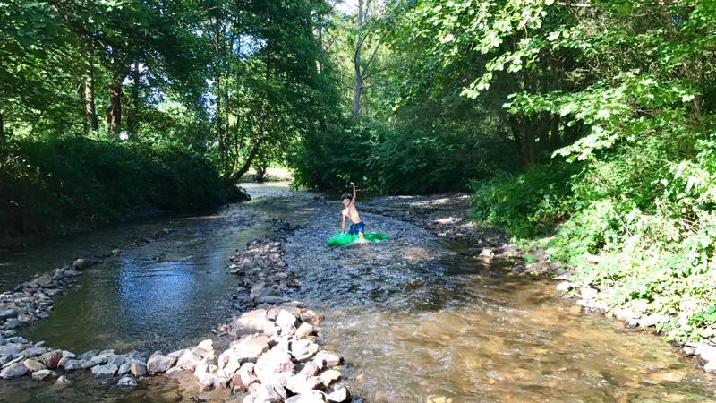 rivier parc la clusure