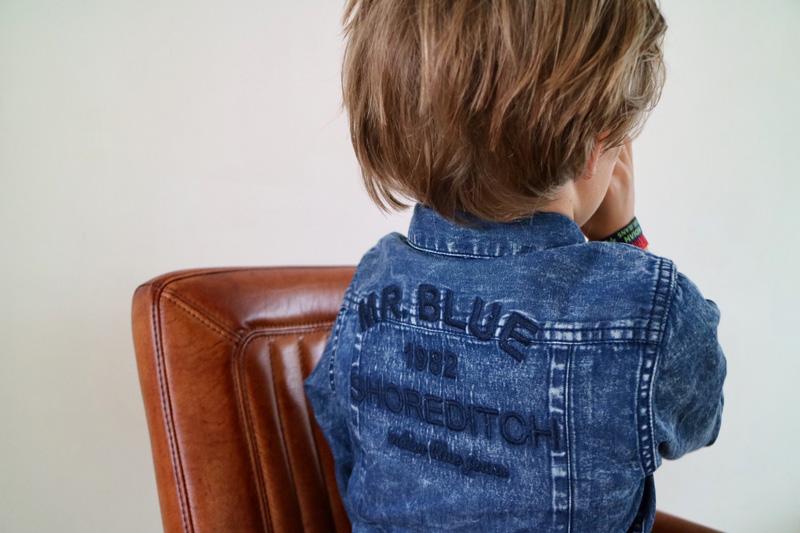 indian blue jeans overhemd achterkant