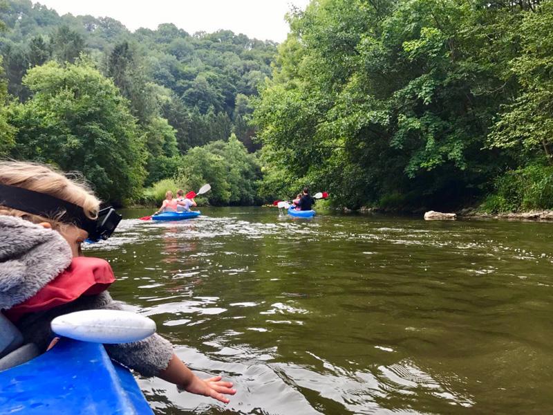 kayak aftocht lesse