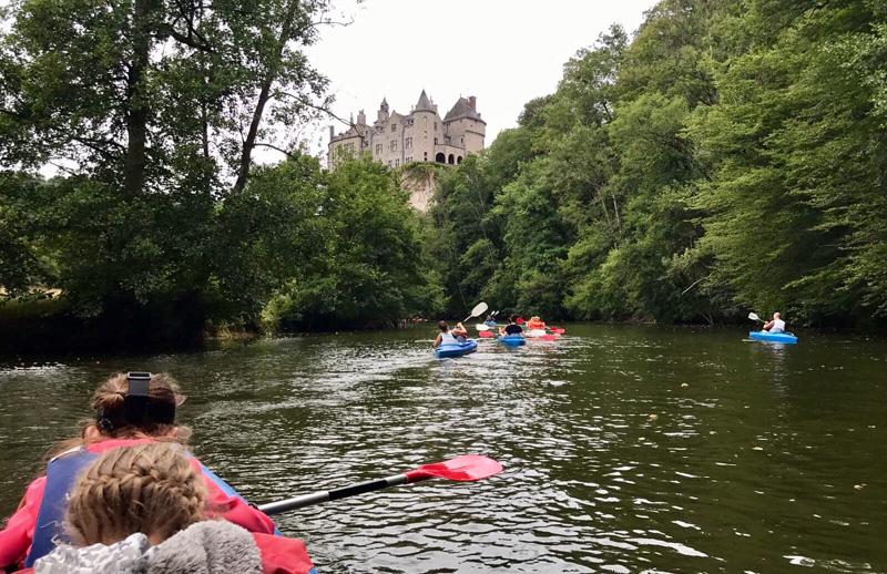 lesse kayak kasteel
