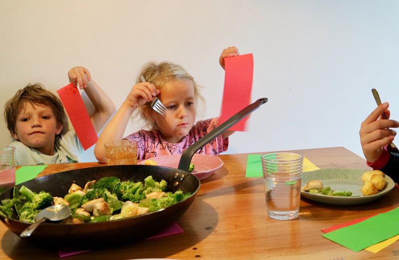 maaltijd kind eten