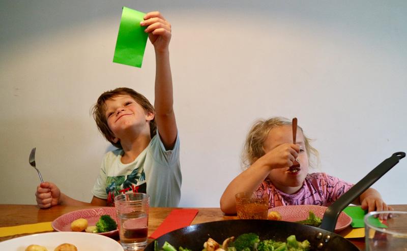maaltijd kinderen spel