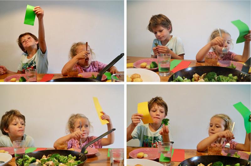 maaltijd spel kinderen